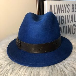 043c34e75cd Eugenia Kim Accessories - Eugenia Kim Royal Blue Fedora Hat
